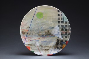 City Abstract 10-14 22 Inch Diameter